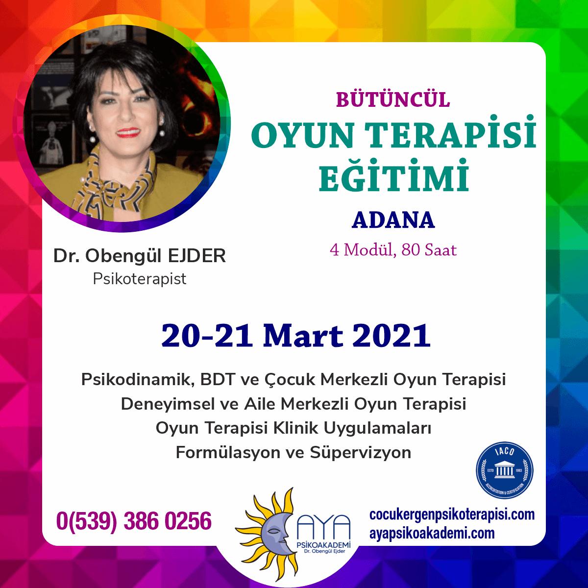 Oyun Terapisi Eğitimi - Adana